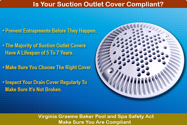 VGB Drain Covers