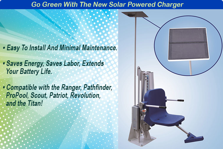 Solar Lift Battery Charger