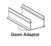 22-090 - Deck Drain Down adapter,