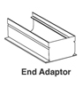 22-100 - Deck Drain End adapter