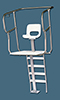 38-535 - Hyalite OSHA guard chair, 6'