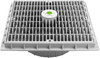 39-715 - AquaStar 12 x 12 Wave grate w/