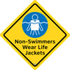 45-270 - Wear Life Jackets Sign,