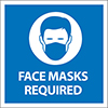 45-461 - Facemasks Required Sign