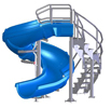 65-415 - Vortex Water Slide, open flume