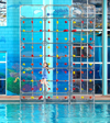 65-500 - Climbing Wall, crystal clear,
