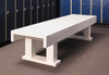 "77-630 - Montego locker bench, 60"" x"