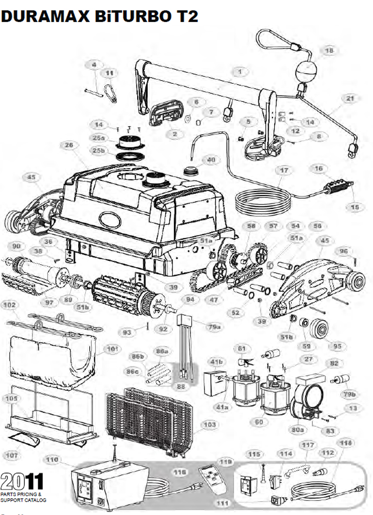 Duramax Biturbo T2 Parts Diagram And Parts List 2013
